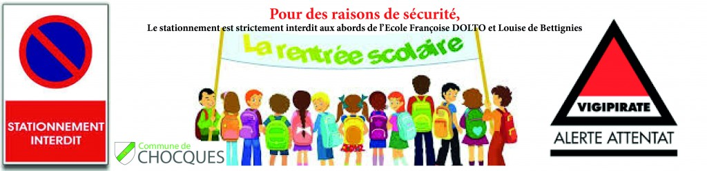 VIGIPIRATE RENTREE SCOLAIRE